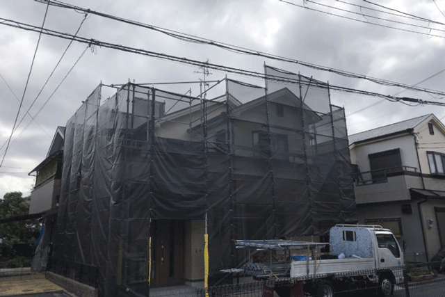 5月19日大阪府吹田市K様邸