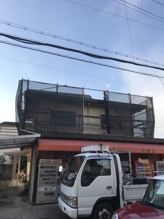 大阪府堺市中区K様邸足場工事