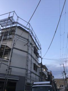大阪市住吉区にて