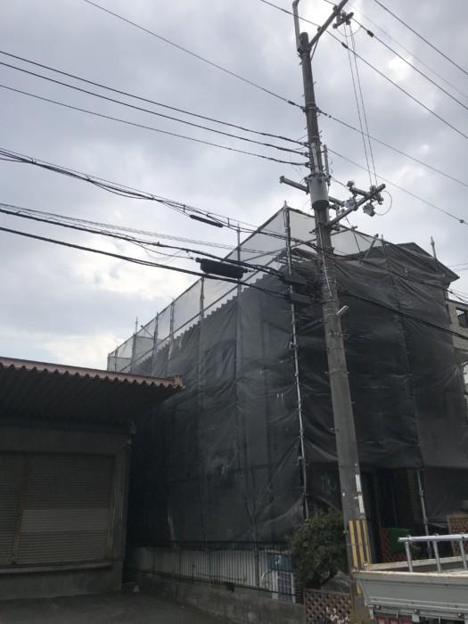 今日は大阪府枚方市にて